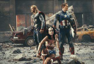 Süper Kahramanların Çekim Molasına Birde Böyle Bakın